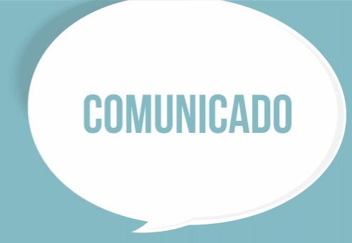 Comunicado – feriado 8 de dezembro