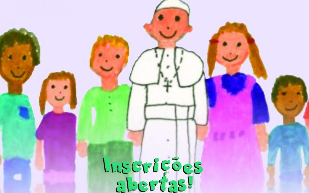 Catequese de Pré-Eucaristia: Inscrições Abertas!