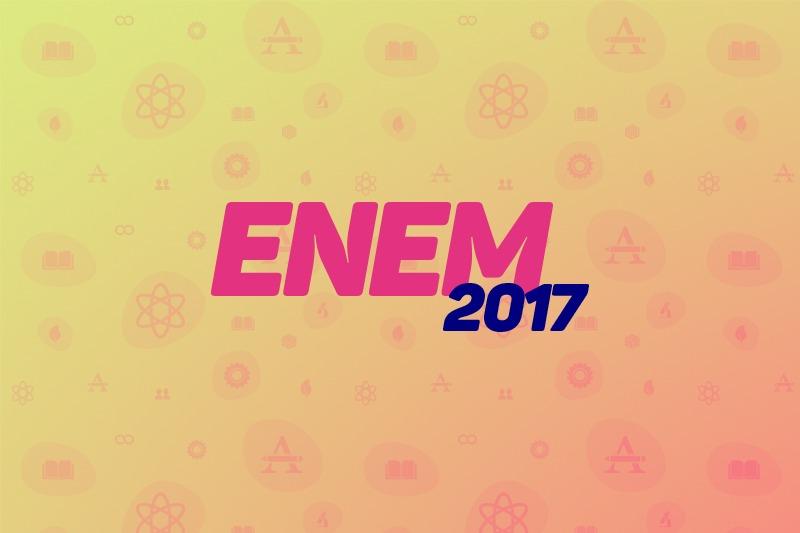 Calendário ENEM 2017