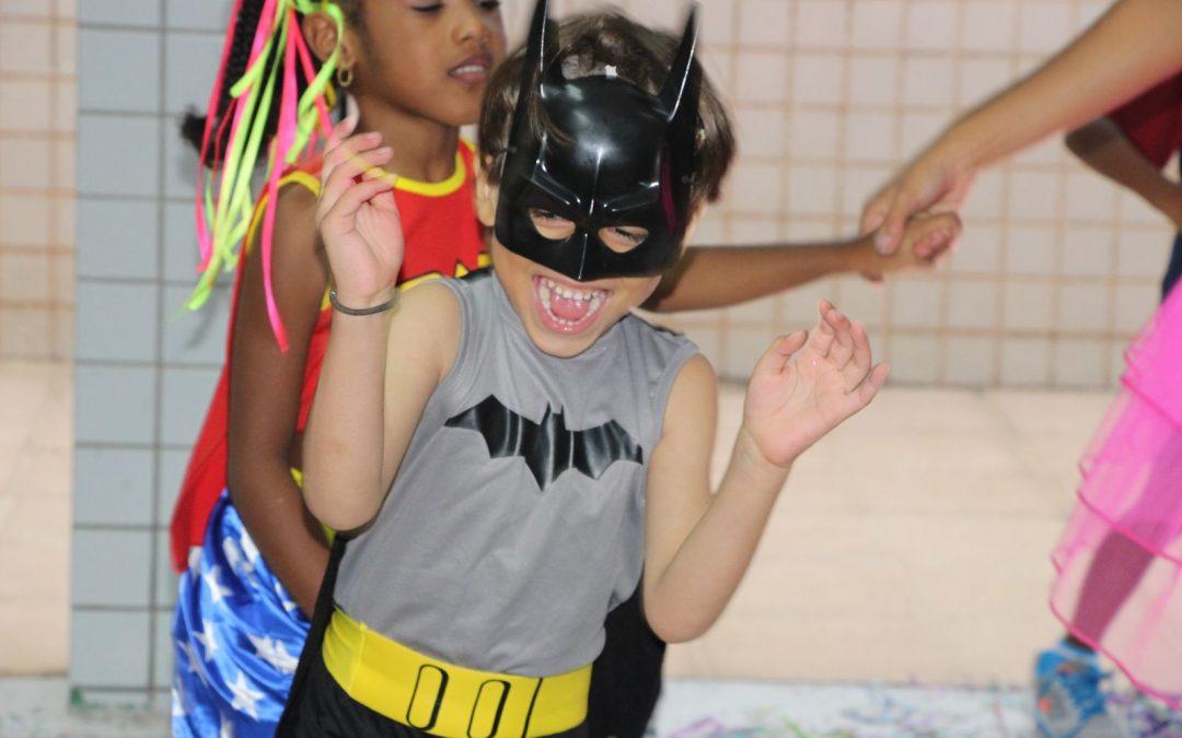 Bailinho de Carnaval na Ed. Infantil