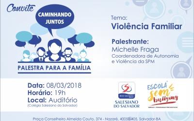 Convite – Palestra para a Família – Fundamental 2