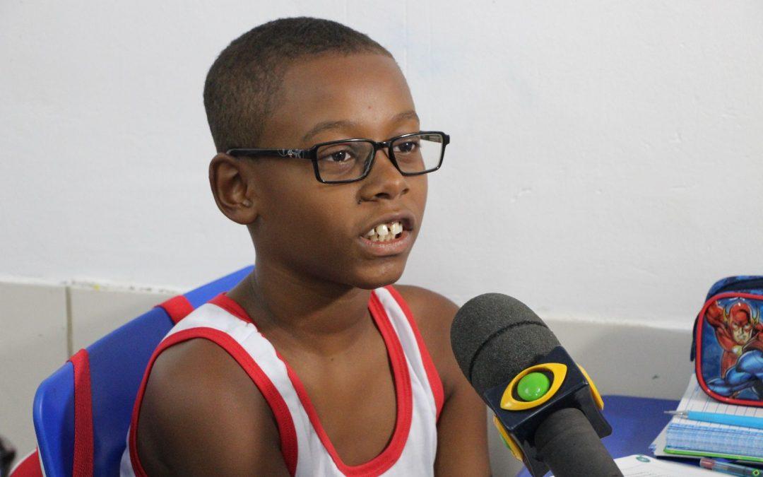 Salesiano na mídia: Matéria sobre o uso de óculos