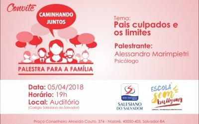 Convite – Palestra para a Família
