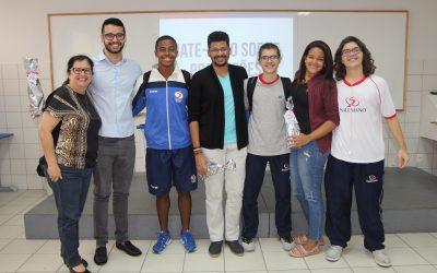 Estudantes participam de Bate-papo sobre Profissões – 3ª série EM