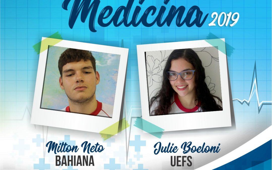 Ex-alunos Salesianos são aprovados em Medicina