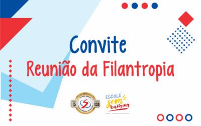 Convite – Reunião da Filantropia